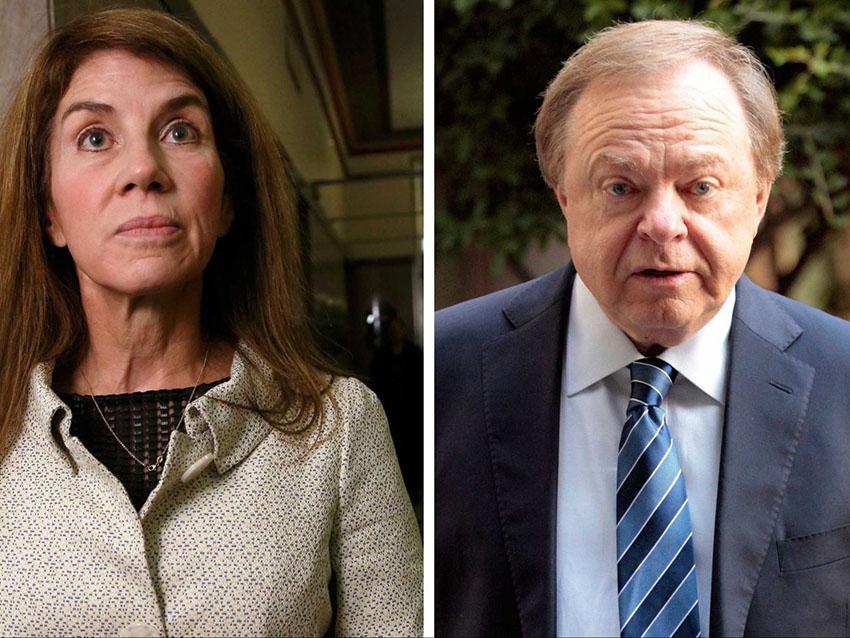 นาง Sue Ann Arnall และ นาย Harold Hamm